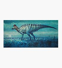 Prairie Moon - Corythosaurus Photographic Print