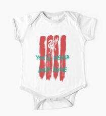 Liverpool - You'll Never Walk Alone One Piece - Short Sleeve
