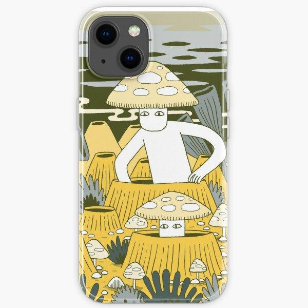 Mushroom Men iPhone Soft Case