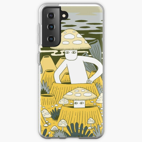 Mushroom Men Samsung Galaxy Soft Case