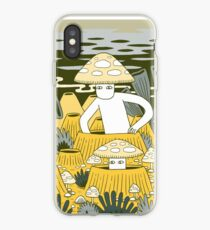 Mushroom Men iPhone Case