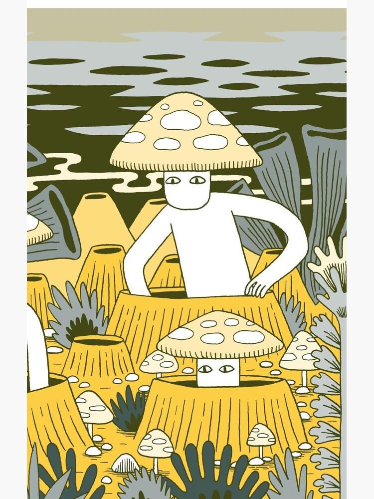 Mushroom Men by jackteagle
