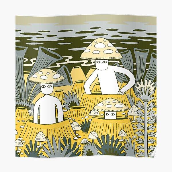 Mushroom Men Poster