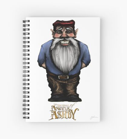 The Journal of Angela Ashby - Gnome T-shirt 2 Spiral Notebook