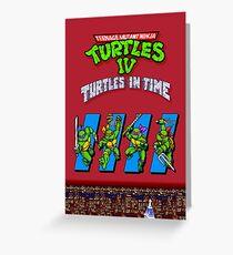 TMNT Turtles in Time Greeting Card