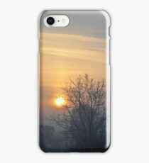 Winter morn. iPhone Case/Skin