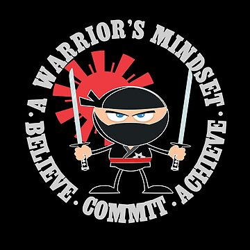Motivational Gifts Motivation Warrior Mindset Shirt by angy2017