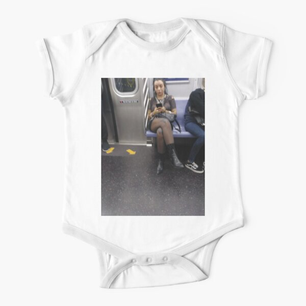 #graffiti, #stamp, #art, #wall, #urban, #street, #city, #paint, #postage, #aged, #colorful Short Sleeve Baby One-Piece