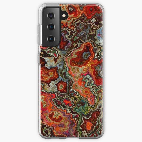 Blood Geode Samsung Galaxy Soft Case