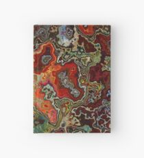 Blood Geode Hardcover Journal