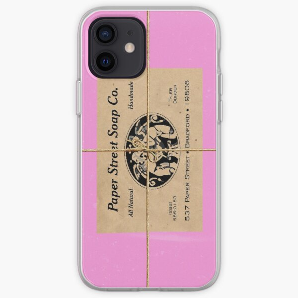 Paper Street Soap Company's soap (from Fight Club) iPhone Soft Case