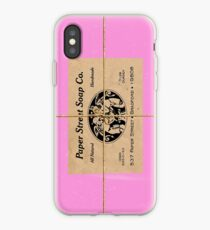 Paper Street Soap Company's soap (from Fight Club) iPhone Case