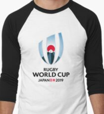 Rugby World Cup Japan  Men's Baseball ¾ T-Shirt