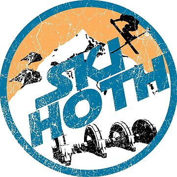 Ski Hoth - Orange | Ski Designs | DopeyArt by DopeyArt