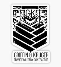 Girls Frontline - Griffon & amp; Kruger Sticker