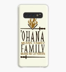 Ohana Means No Leftovers Case/Skin for Samsung Galaxy