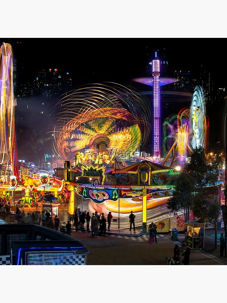 Fairground Attraction (diptych - left side) by RayW