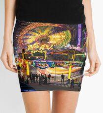 Fairground Attraction (diptych - left side) Mini Skirt