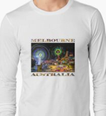 Fairground Attraction (diptych - right side) Long Sleeve T-Shirt