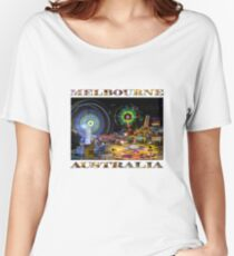Fairground Attraction (diptych - right side) Women's Relaxed Fit T-Shirt