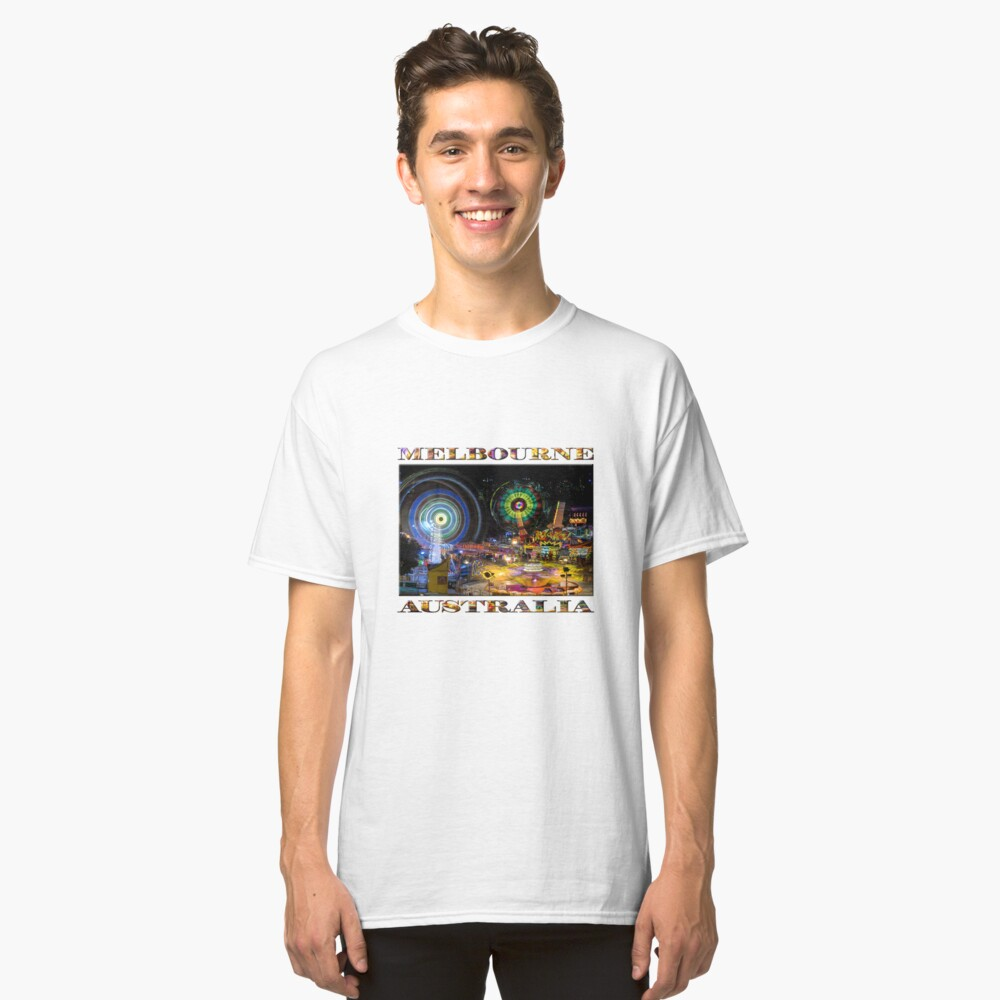 Fairground Attraction (diptych - right side) Classic T-Shirt