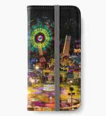 Fairground Attraction (diptych - right side) iPhone Wallet/Case/Skin