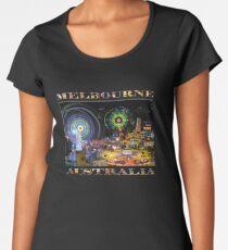 Fairground Attraction (diptych - right side) Women's Premium T-Shirt