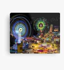 Fairground Attraction (diptych - right side) Metal Print