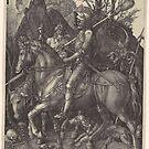 The Knight, Death and the Devil, by Albrecht Dürer, 1513 by edsimoneit