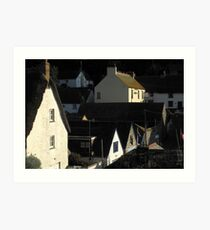 Early Morning light in Cadgewith Art Print