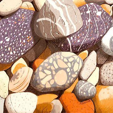 North West Tasmanian Stones by artkleko