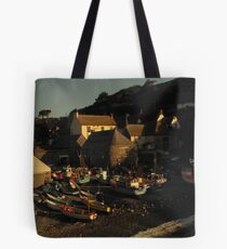 Golden Light in Cadgwith Tote Bag