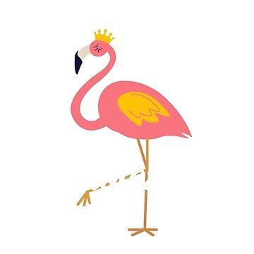 Pink Flamingo Be Totally Flamazing Gift  by CheerfulDesigns