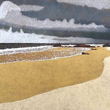 Approaching Storm, Lighthouse Beach. by artkleko