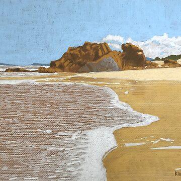 Watonga Rock, Lighthouse Beach. by artkleko