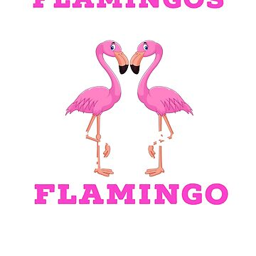 Flamingos Are Awesome I Am Awesome I Am A Flamingo Funny Gift  by CheerfulDesigns