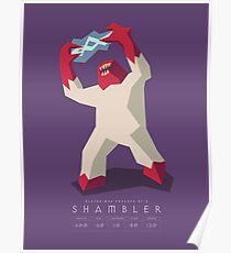 Quake Shambler Minimal Poster