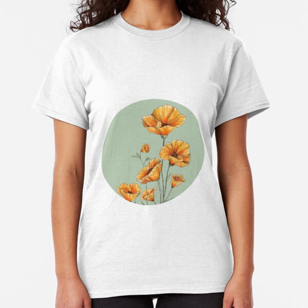California Poppies Classic T-Shirt