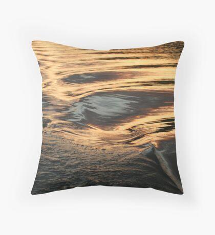 Hydro Gold Throw Pillow
