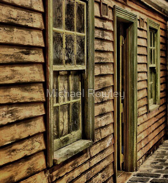 Weathered Cottage by Michael Rowley