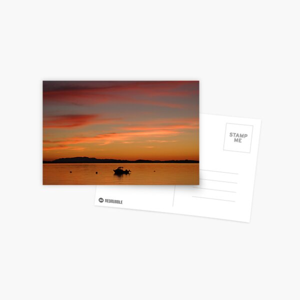 Savary Sunset Postcard