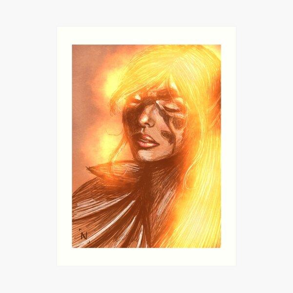 Fireah Art Print