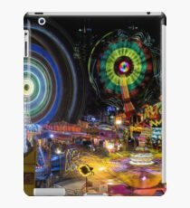 Fairground Attraction (diptych - right side) iPad Case/Skin