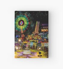 Fairground Attraction (diptych - right side) Hardcover Journal