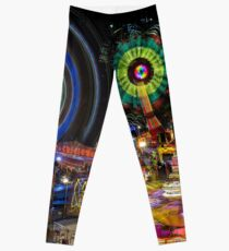 Fairground Attraction (diptych - right side) Leggings