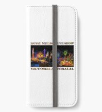Fairground Attraction (poster on white) iPhone Wallet/Case/Skin