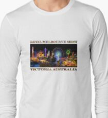 Fairground Attraction (poster on white) Long Sleeve T-Shirt