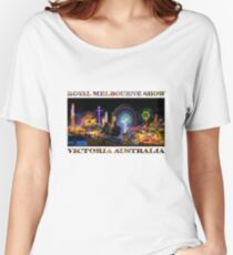 Fairground Attraction (poster on white) Women's Relaxed Fit T-Shirt