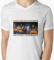 Fairground Attraction (poster on white) Men's V-Neck T-Shirt