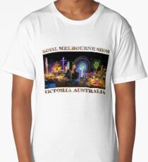 Fairground Attraction (poster on white) Long T-Shirt